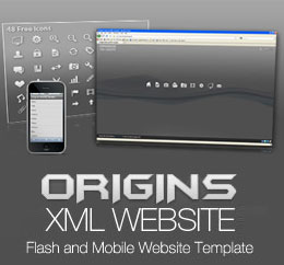 Origins Flash Wordpres Template